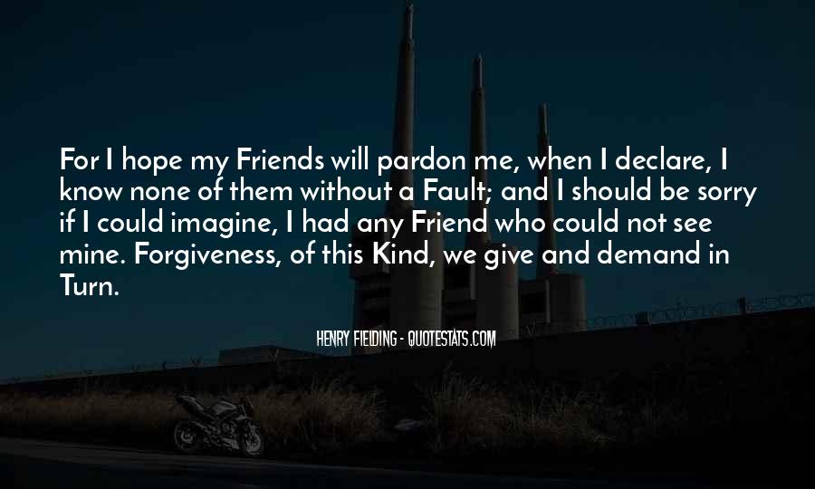 Be My Friends Quotes #104058