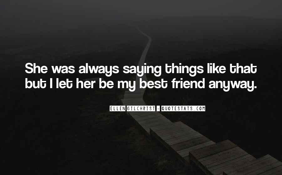 Be My Friends Quotes #133934