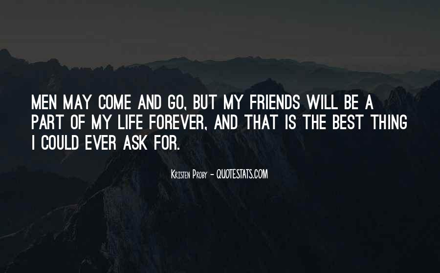 Be My Friends Quotes #147484