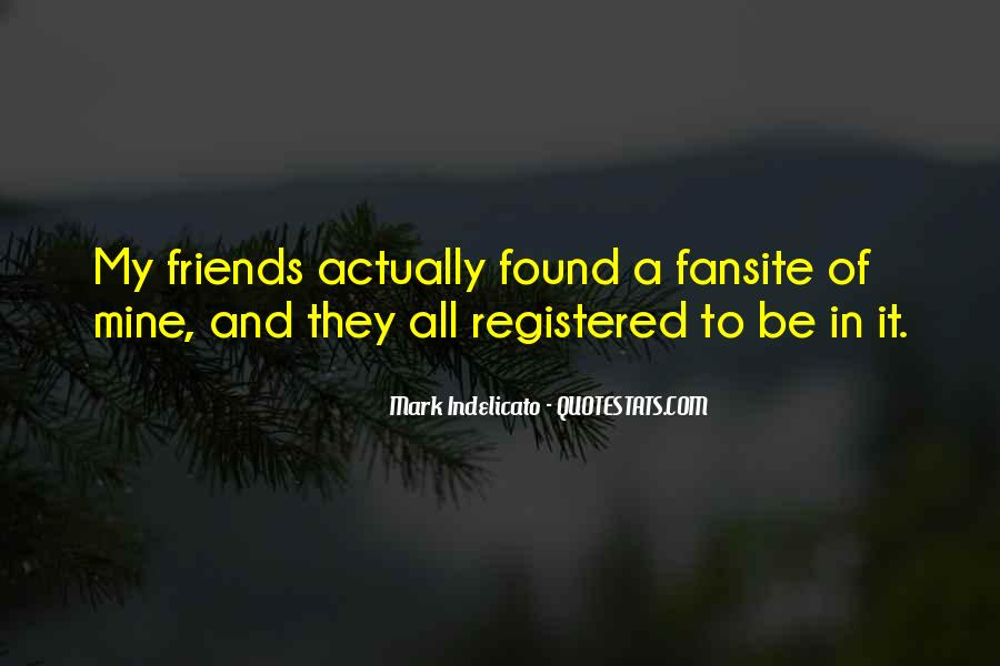 Be My Friends Quotes #154531