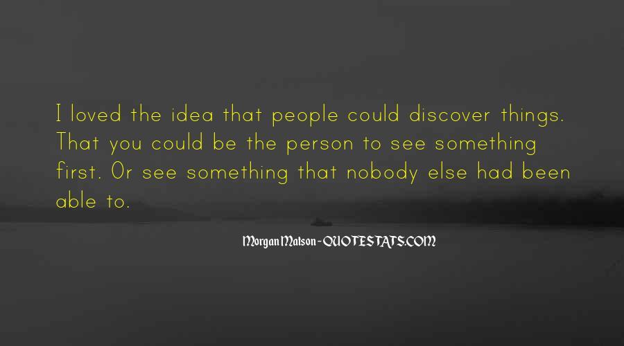 Be Nobody Quotes #100815