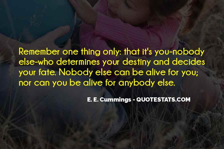 Be Nobody Quotes #106795