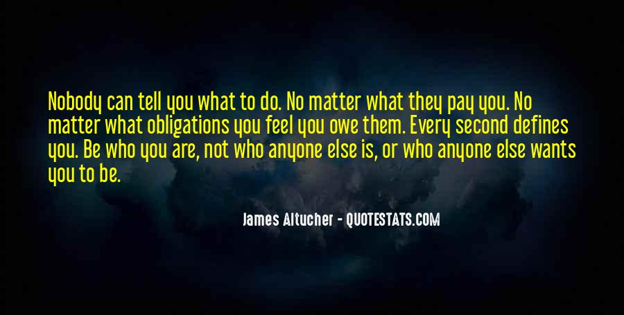 Be Nobody Quotes #110811