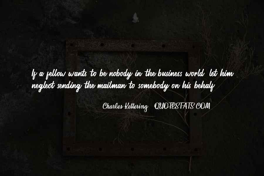Be Nobody Quotes #11928