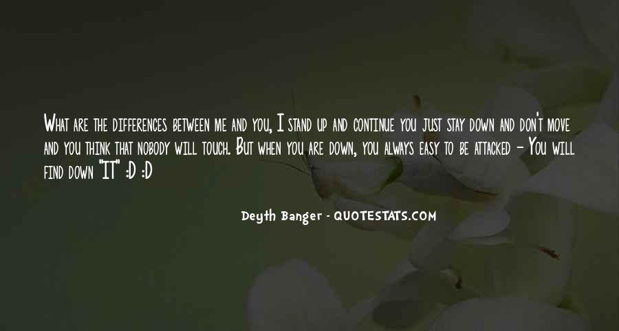 Be Nobody Quotes #30636