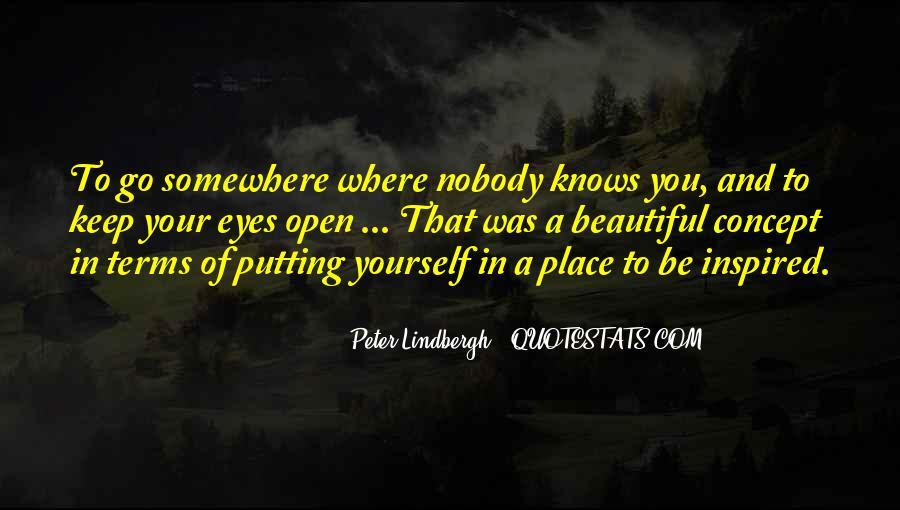 Be Nobody Quotes #35407