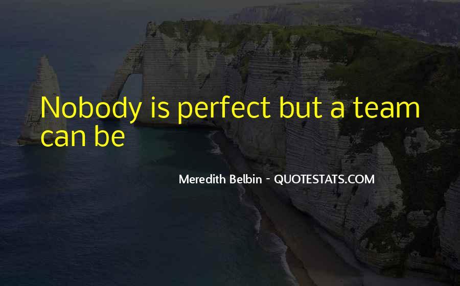 Be Nobody Quotes #41917