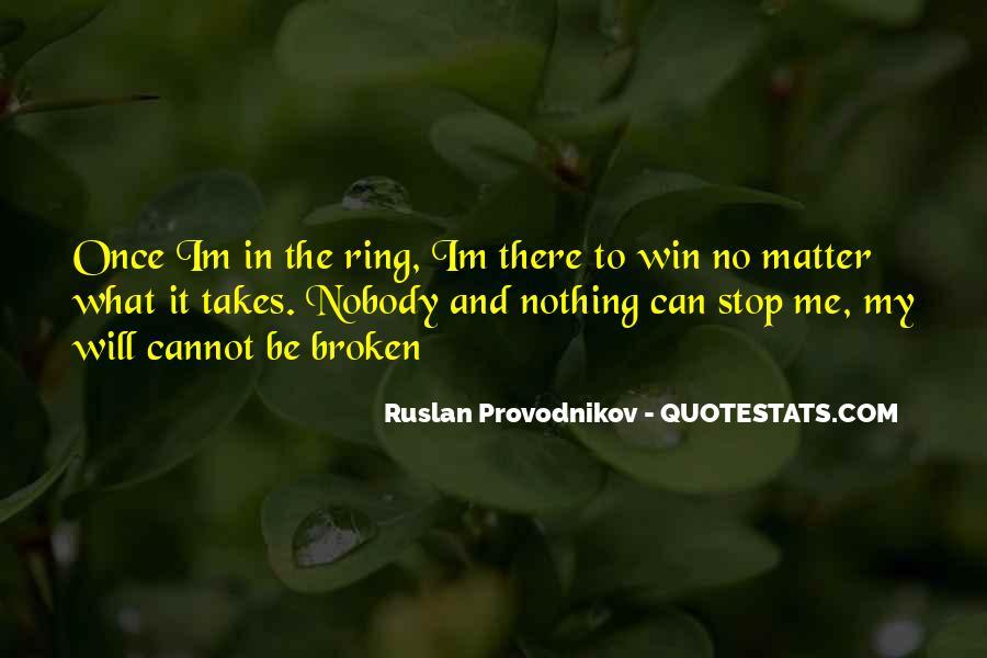 Be Nobody Quotes #51867