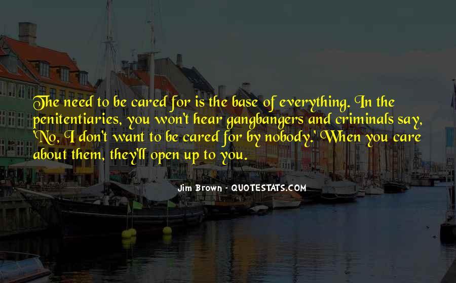 Be Nobody Quotes #79149