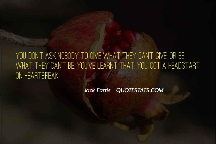 Be Nobody Quotes #96397