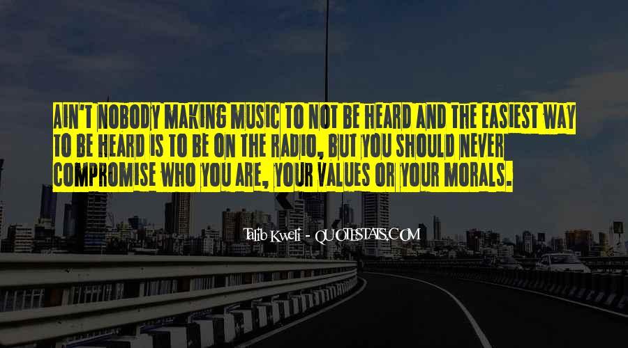 Be Nobody Quotes #9837