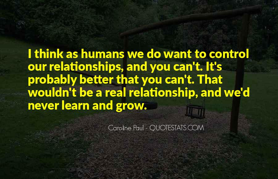 Be Real Relationship Quotes #333539
