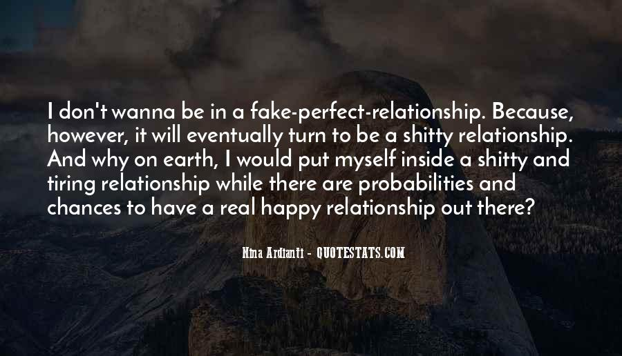 Be Real Relationship Quotes #464158
