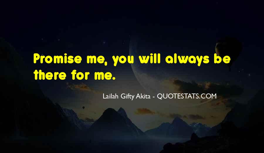 Be There For You Love Quotes #247564