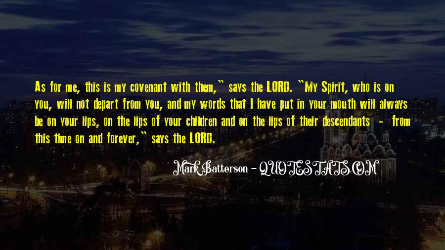 Be With Me Lord Quotes #1032045