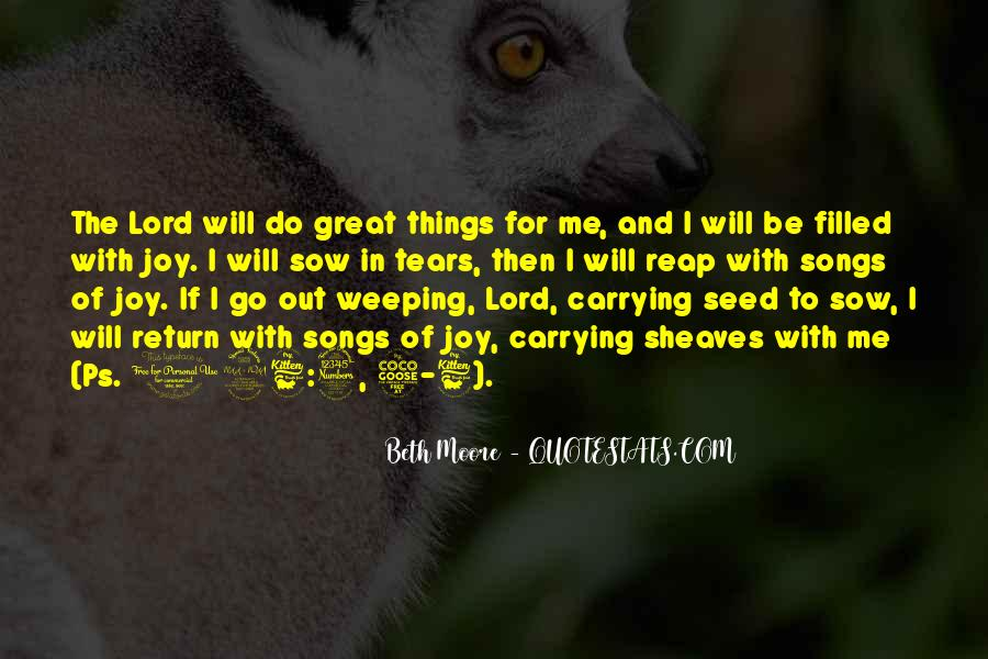 Be With Me Lord Quotes #1696095