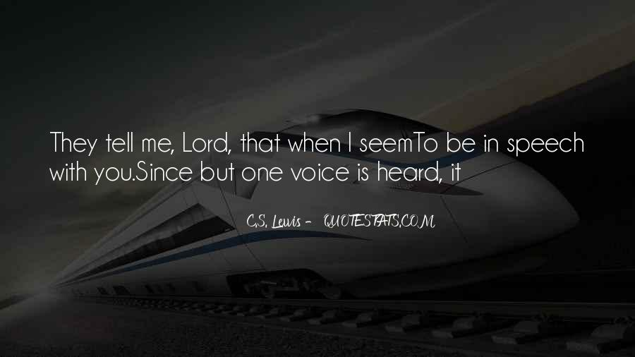 Be With Me Lord Quotes #1756698