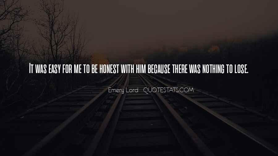 Be With Me Lord Quotes #1796024