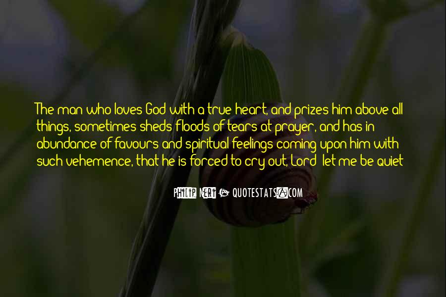 Be With Me Lord Quotes #36213