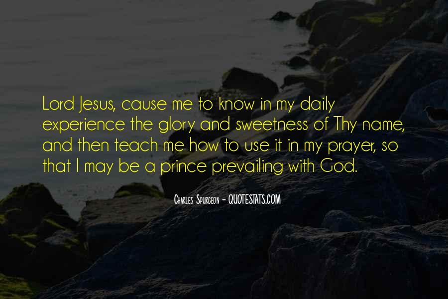 Be With Me Lord Quotes #37789