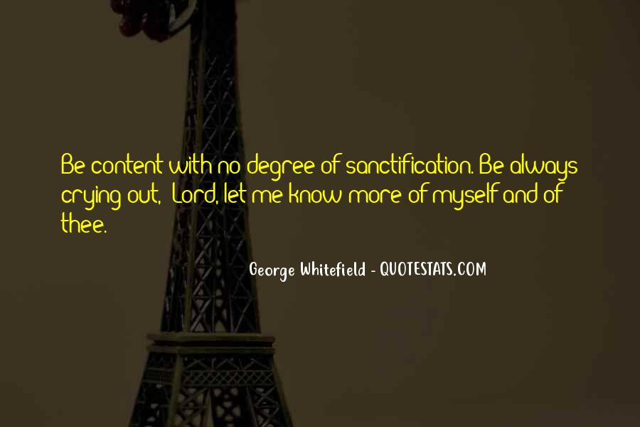 Be With Me Lord Quotes #952417