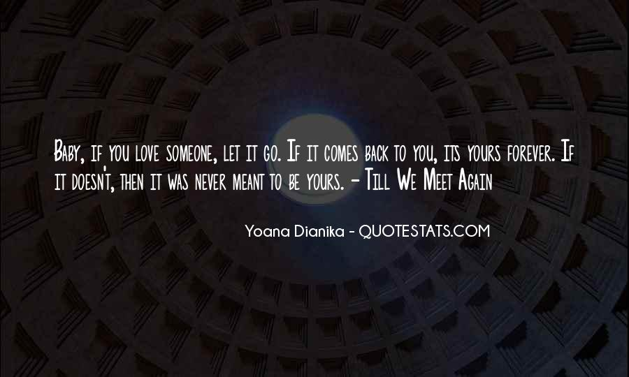Be Yours Forever Quotes #1237898