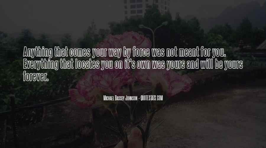 Be Yours Forever Quotes #150970