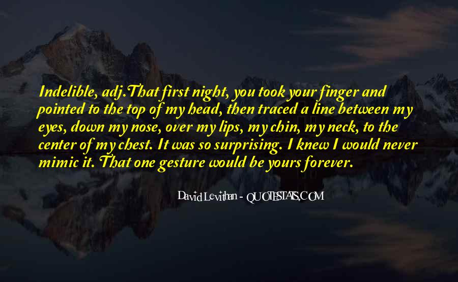 Be Yours Forever Quotes #195893