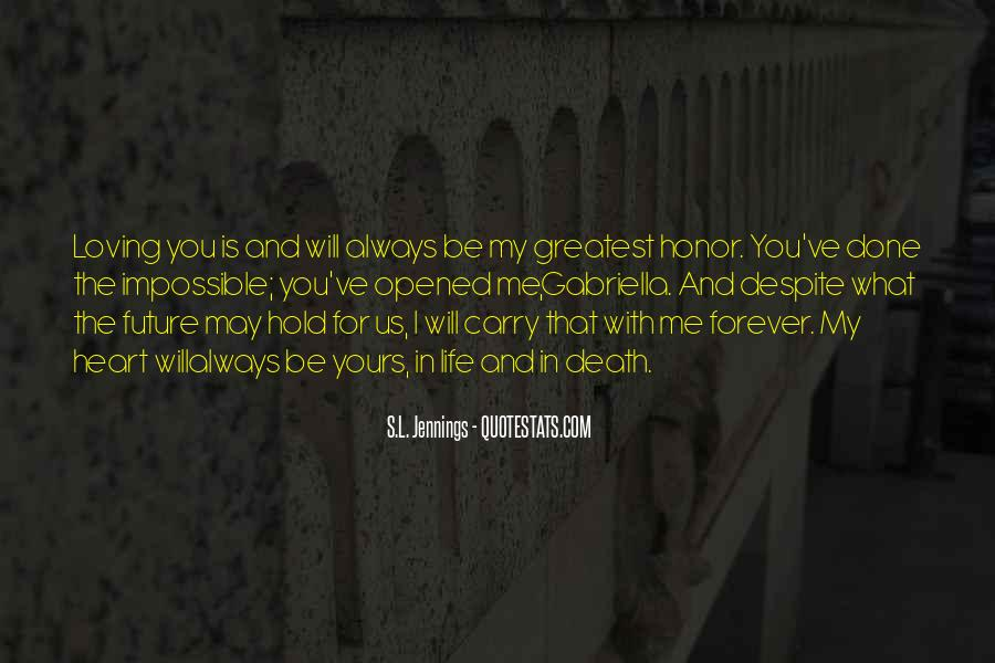 Be Yours Forever Quotes #29211