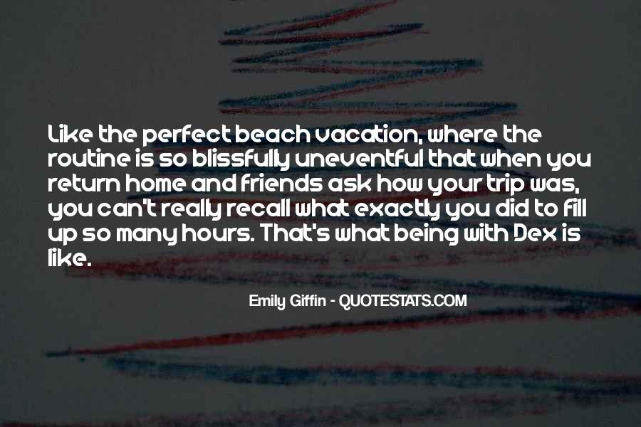 Beach Day With Friends Quotes #104842