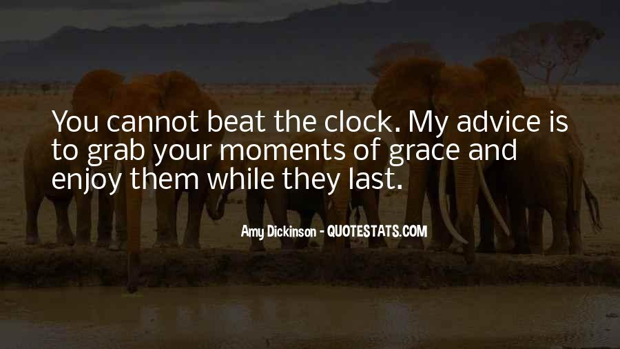 Beat The Clock Quotes #1045612