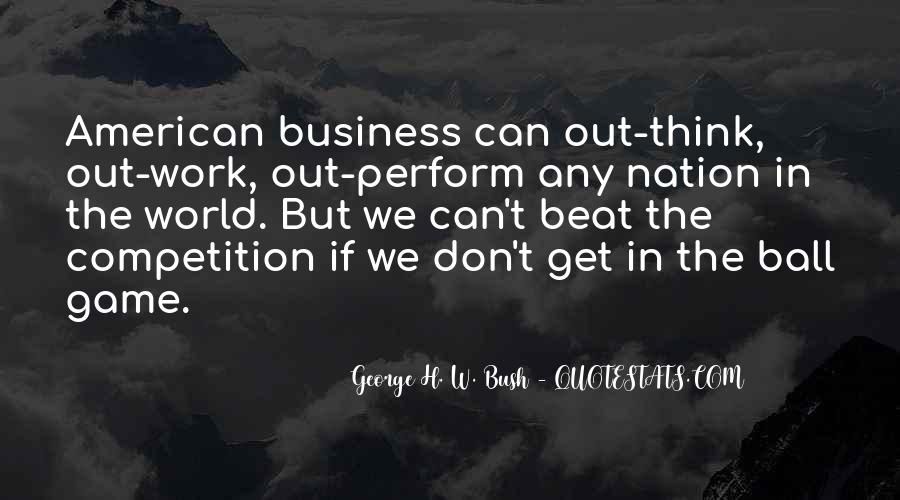 Beat The Competition Quotes #1494672