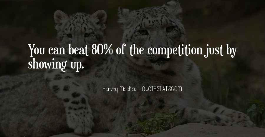 Beat The Competition Quotes #1529808