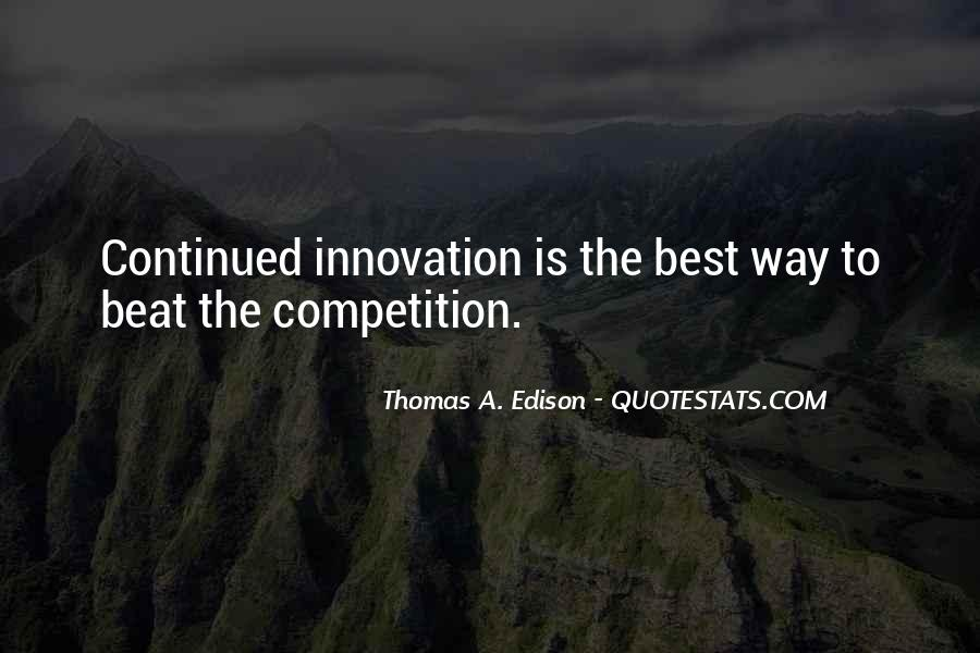 Beat The Competition Quotes #1538178