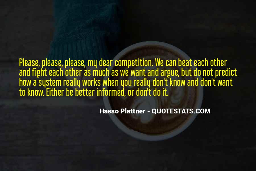 Beat The Competition Quotes #1733643