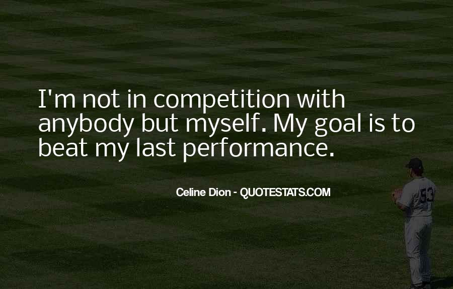 Beat The Competition Quotes #789892