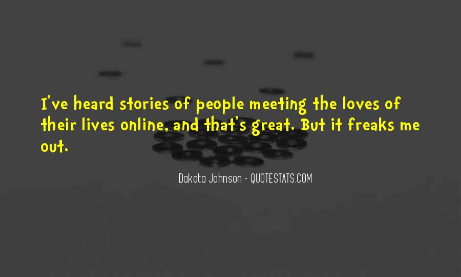 Quotes About Meeting People Online #1047831