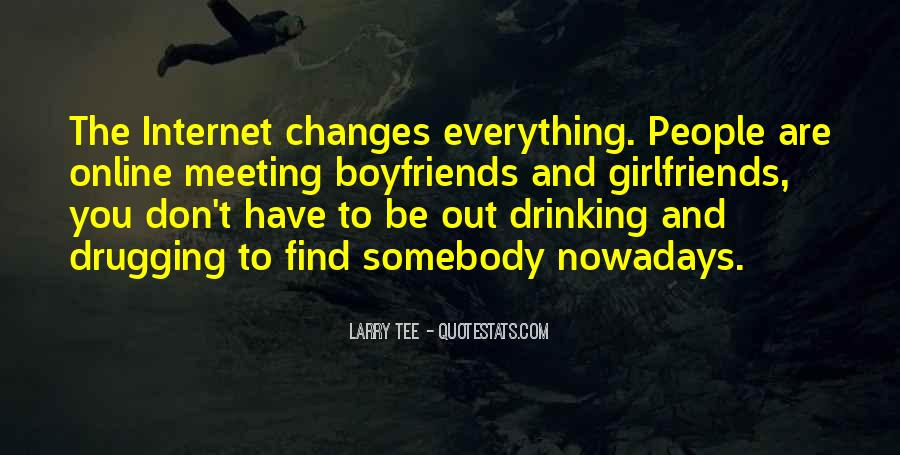 Quotes About Meeting People Online #239841