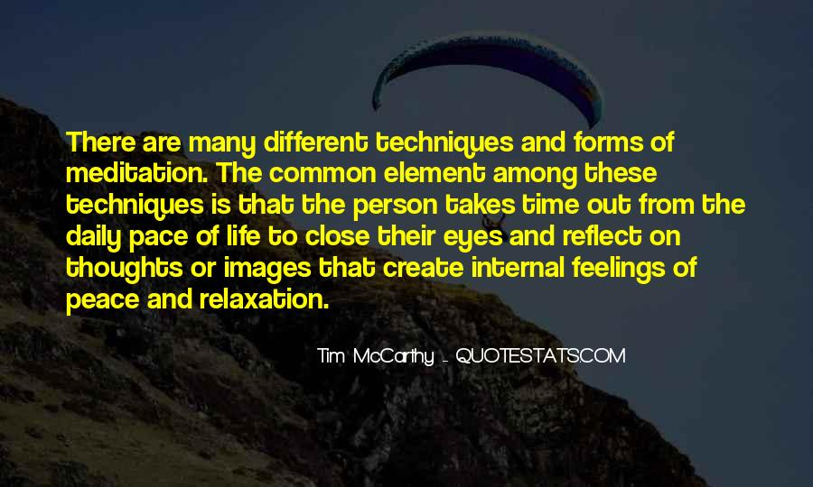 Quotes About Meditation Life #128744