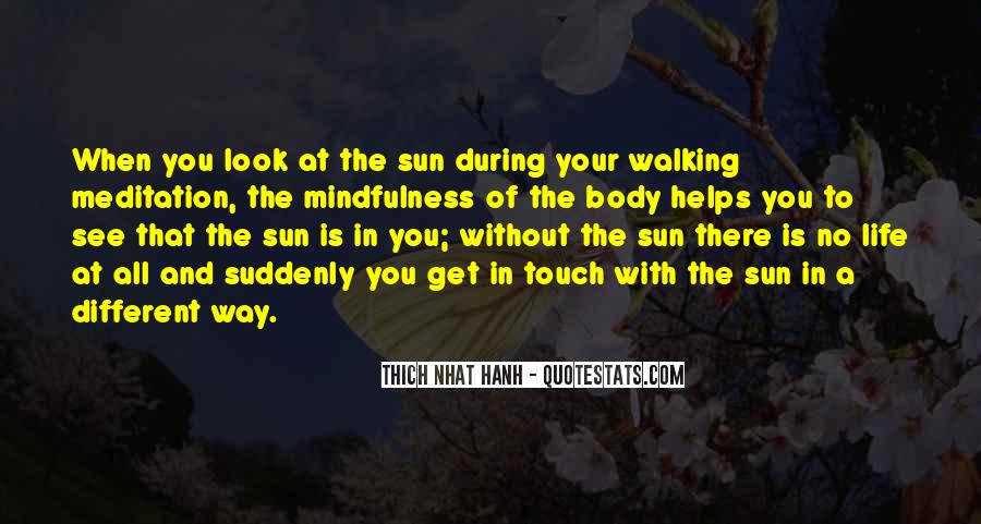 Quotes About Meditation Life #134026