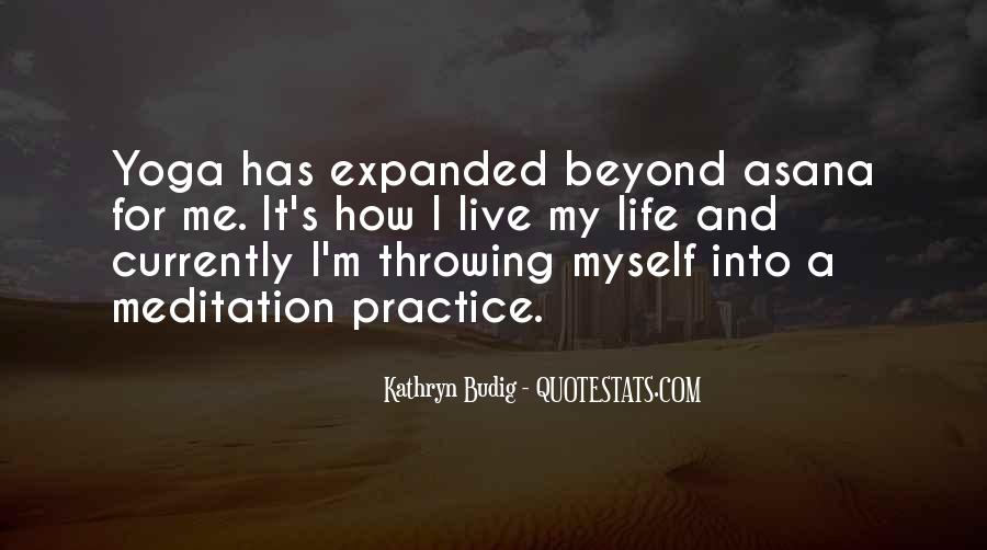 Quotes About Meditation Life #189397