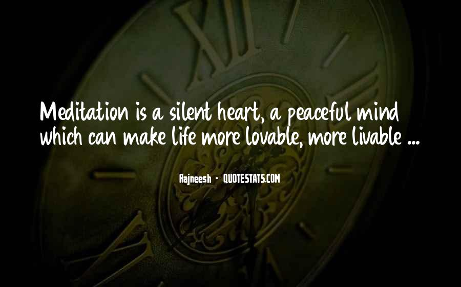 Quotes About Meditation Life #20087
