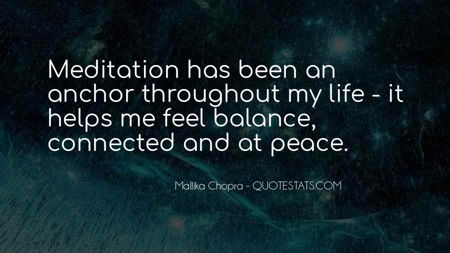 Quotes About Meditation Life #20219