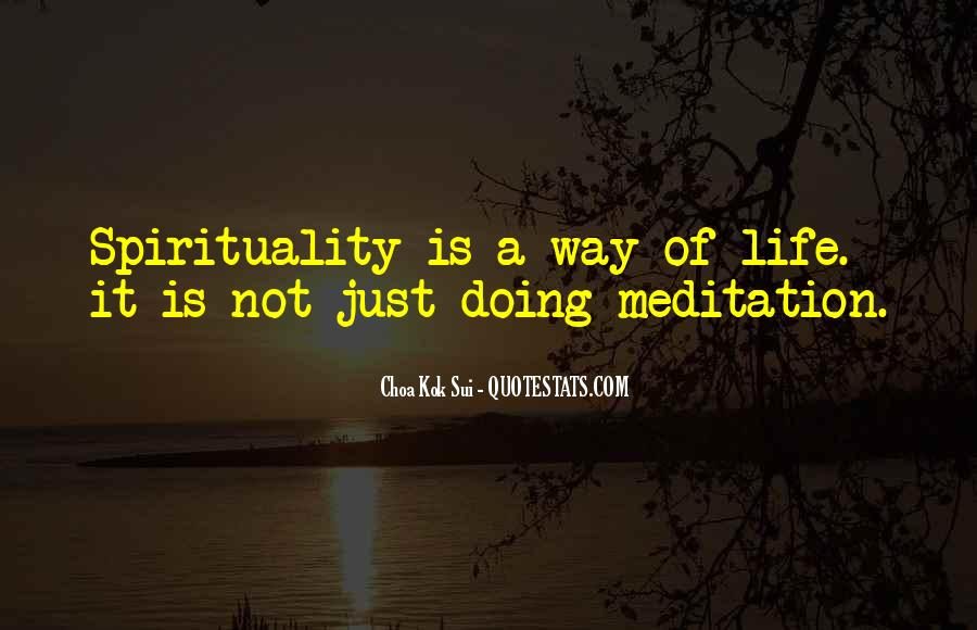 Quotes About Meditation Life #278068