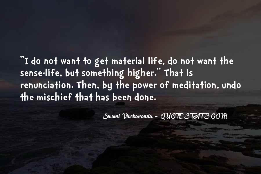 Quotes About Meditation Life #355143