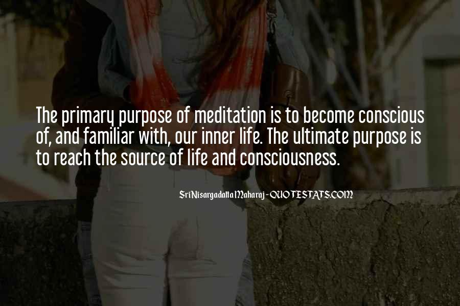 Quotes About Meditation Life #38075