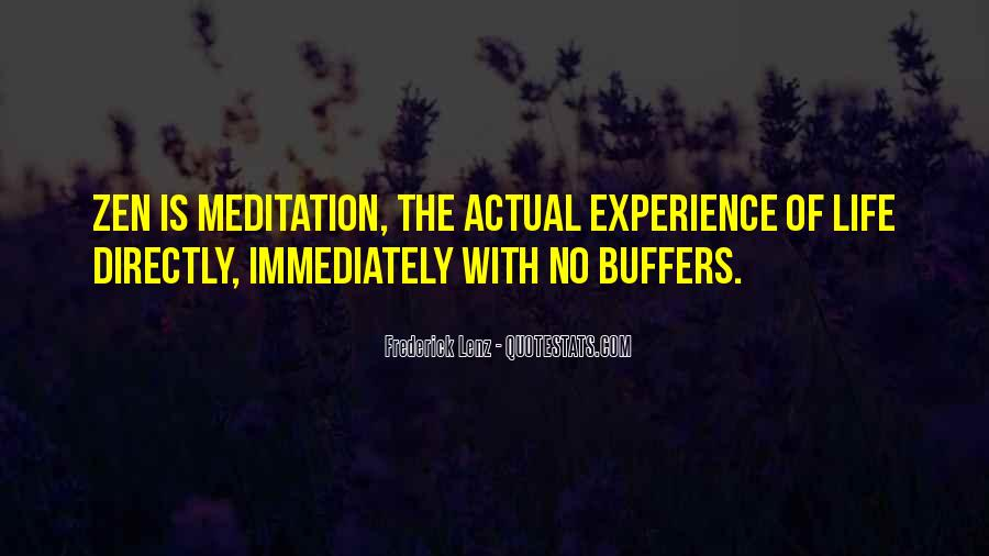Quotes About Meditation Life #53084