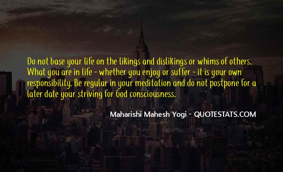 Quotes About Meditation Life #92914