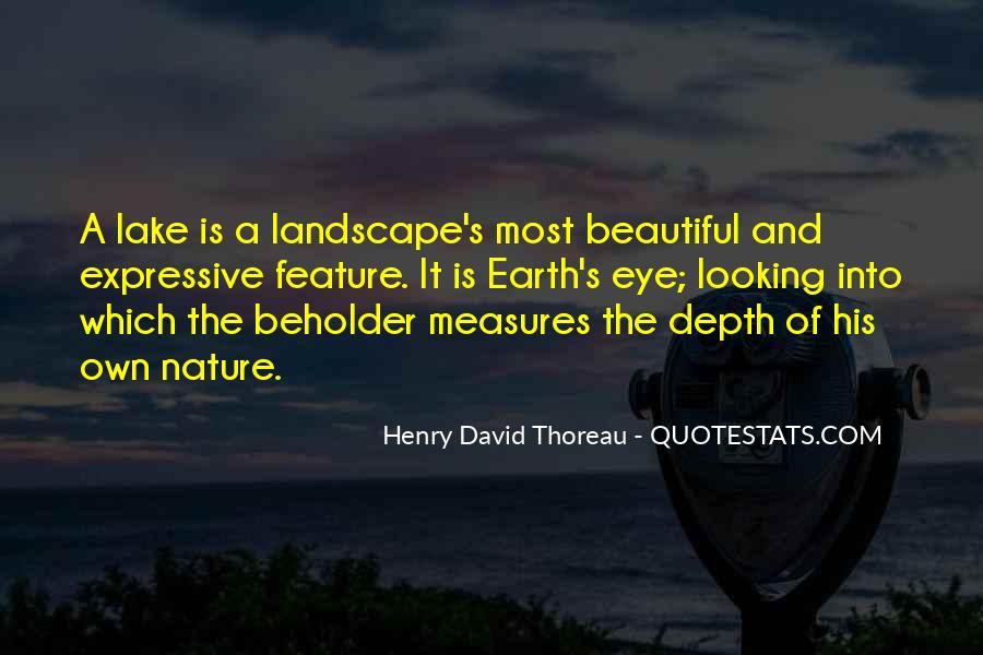 Beautiful Lake Quotes #1022738