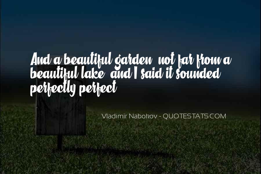 Beautiful Lake Quotes #1157263